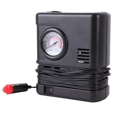 Tire Inflator With Gauge, 12-Volt