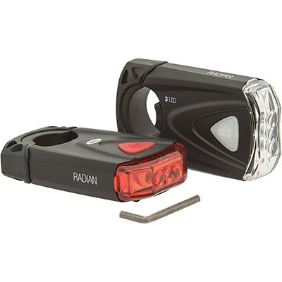 Bell Radian 350 Bicycle Light Set, Battery-Operated
