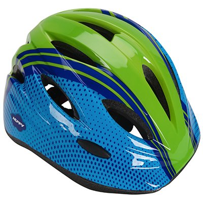 Huffy Bicycle Helmet, Youth, Blue & Green