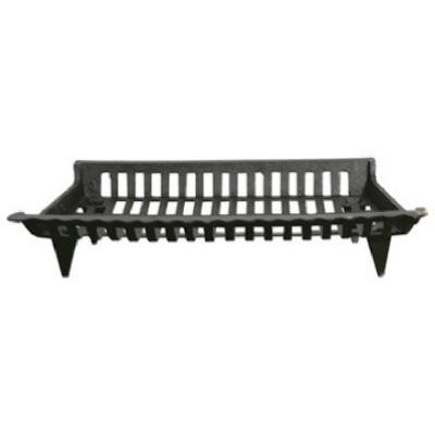 30-In. Cast Iron Fireplace Grate