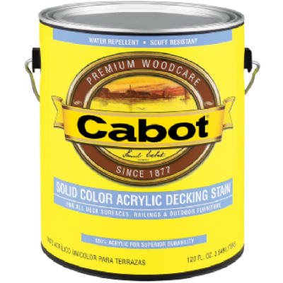 Cabot 1-Qt. White Base Acrylic Decking Stain